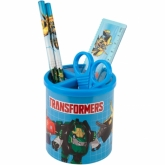 Набор настольный KITE, 5 предметов, Transformers