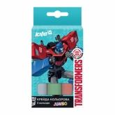 Мел цветной Jumbo, 3 шт., Transformers