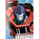 Картон белый двухсторонний А4, 10 листов, Transformers