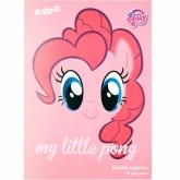 Картон белый двухсторонний А4, 10 листов, My Little Pony