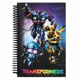 Блокнот на пружине, А5-, 80 листов, нелинованый, Transformers