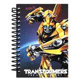 Блокнот на пружине, А6, 80 листов, нелинованый, Transformers