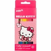 Карандаши цветные двусторонние Kite Hello Kitty, 24 цвета