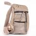 Сумка-рюкзак YES Weekend, бежевый