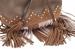 Сумка-рюкзак YES Weekend, коричневый с бахромой - №5