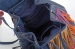 Сумка-рюкзак YES Weekend, синий с бахромой - №4