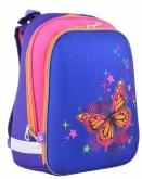 Ранец школьный 1 Вересня H-12 Butterfly blue