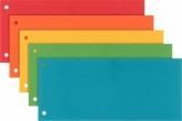 Разделитель-закладка Esselte, картон, ассорти, 5 цветов по 20 шт.