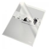 Папка-уголок Esselte Standard А4, 105 мкм, прозрачная