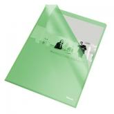 Папка-уголок Esselte Standard А4, 105 мкм, зеленая