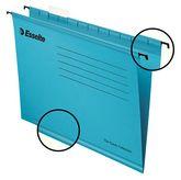 Папка подвесная А4 Esselte Classic, синяя, 25шт.