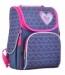 Ранец школьный YES H-11 Hearts blue - №1