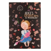 Книга записная Axent Gapchinska, В5, клетка, Alice
