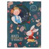 Книга записная Axent Gapchinska, 12,5х19,5 см, клетка, Alice