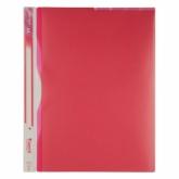 Папка-уголок Axent A4, 5 отделений, 180 мкм, розовая