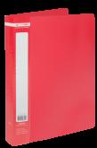 Папка c 40 файлами А4 JOBMAX, красный