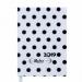 Ежедневник датированный 2019 Buromax Design RELAX, белый, А6 - №1