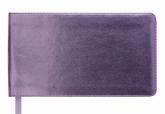 Еженедельник датированный 2019 Buromax Карманный METALLIC, розовый, 9.5х17 см
