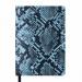 Ежедневник датированный 2019 Buromax Design WILD soft, голубой, А6 - №1