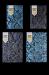 Ежедневник датированный 2019 Buromax Design WILD soft, голубой, А6 - №3