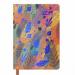 Ежедневник датированный 2019 Buromax Design CHERIE, оранжевый, А6 - №1