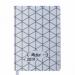 Ежедневник датированный 2019 Buromax Design RELAX, серебро, А6 - №1