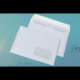 Конверт Куверт DL (E65) СКЛ с окном, 1000 шт, белый