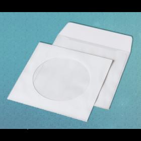 Конверт Куверт для CD НК с окном 100 мм, 50 шт, белый