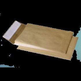 Конверт Куверт C4 СКЛ с расширением, 250 шт, крафт