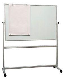 Доска оборотно-мобильная магнитно-маркерная 2x3 90x120 см