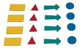 Магнитные символы для планера 4 листа