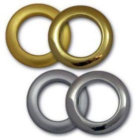 Заклепки (люверсы) 5.5 мм, золото, 1000 шт