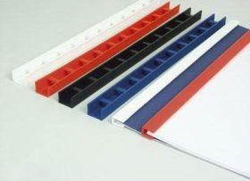 Пресс биндер 3 мм, синий, 50 шт (распродажа)