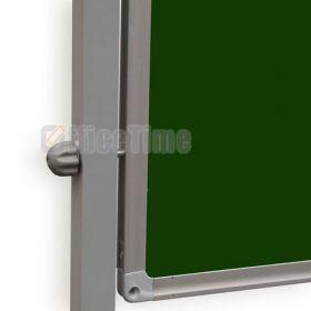 Доска оборотно-мобильная магнитно-маркерная/для мела UkrBoards  90x120
