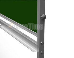 Доска оборотно-мобильная магнитно-маркерная/для мела UkrBoards 100x200