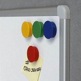 Набор магнитов 30 мм x 10 шт. цвет ассорти