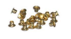 Заклепки (люверсы) 3.0 мм, золото, 1000 шт