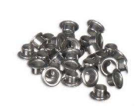 Заклепки (люверсы) 6 мм для Skre-perfo, серебро, 100 шт
