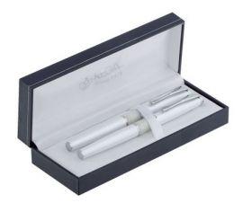 Комплект из перьевой ручки и ручки-роллера в подарочном футляре L 82407