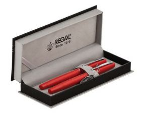 Комплект из перьевой ручки и ручки-роллера в подарочном футляре P 285205