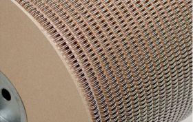 Металлическая пружина в бобине 6.4 мм, А 80 000 петель, 3:1 белая