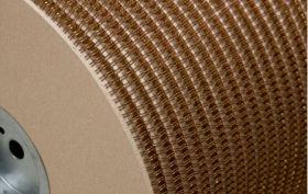 Металлическая пружина в бобине 6.4 мм, А 80 000 петель, 3:1 бронзовая