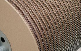 Металлическая пружина в бобине 6.4 мм, А 80 000 петель, 3:1 серебро