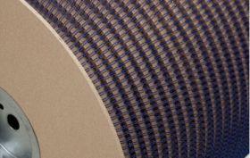 Металлическая пружина в бобине 6.4 мм, А 80 000 петель, 3:1 синяя