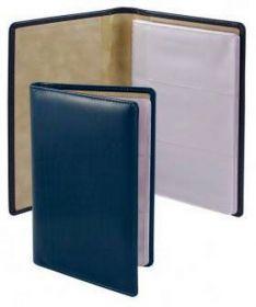 Визитница с впаянными файлами Brunnen, 96 визиток, LaFontaine, синяя