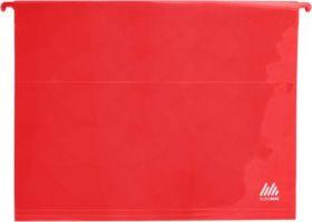 Подвесной файл А4, пластиковый, красный