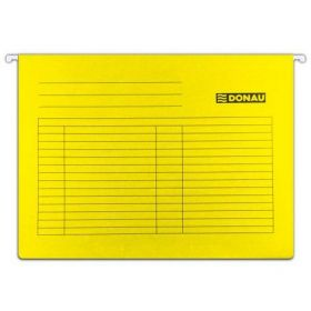 Подвесной файл А4, желтый