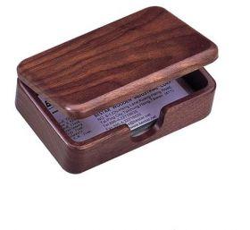 Деревянный контейнер для визиток BESTAR 1315WDN, орех
