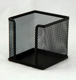 Бокс для бумаги металлический Buromax, черный