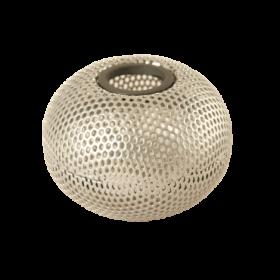 Подставка для скрепок металлическая Buromax Шар, серебро